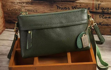 Green Cross Body Clutch Bag Sweet & Simple