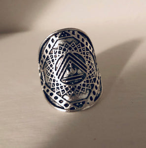 Tribal Goddess Visionary Ring