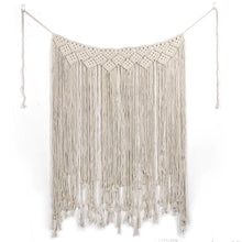 Load image into Gallery viewer, Handmade Boho Macrame Wall Hanging Backdrop