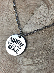 Auntie Bear Necklace