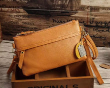 Load image into Gallery viewer, Mustard Cross Body Purse Simple + Sweet
