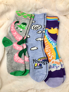 Sarcasm Socks - Gift Set Of (3)