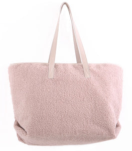 Blush Teddy Bear Tote Bag