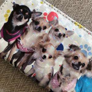 Chihuahua + Friends Wallet