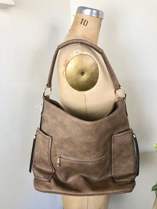 Soft +Supple Mocha Handbag