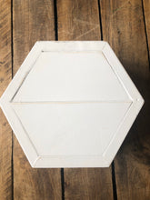Load image into Gallery viewer, Hexagon Handcrafted Wood Container - So many uses!