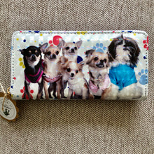 Load image into Gallery viewer, Chihuahua + Friends Wallet