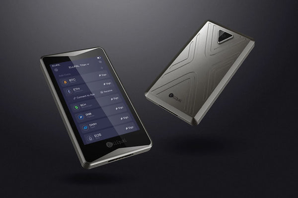 ELLIPAL Titan Cryptocurrency Hardware Wallet