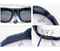 ViView G40B-Blue-Sunglasses FHD 1080p waterproof outdoor Video Camera Glasses with Adjustable Lens