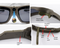 Viview G40D-ArmyGreen-Sunglasses IP55 waterproof FHD1080p Video Camera Glasses with adjustable lens