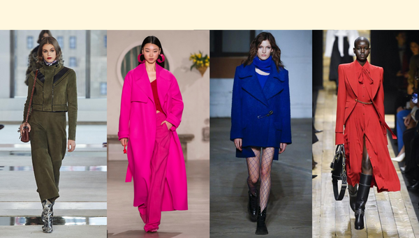 5 Colours To Wear This Fall