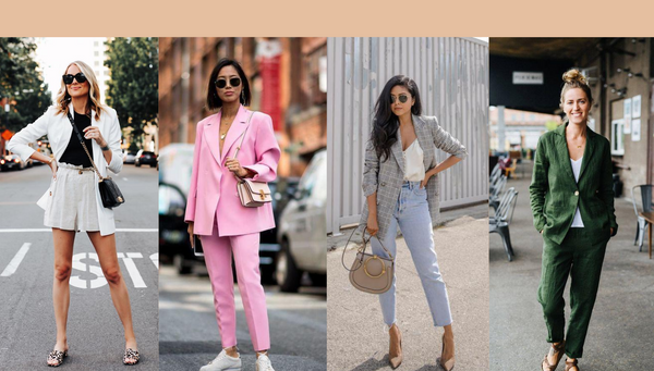 How To Wear A Blazer In The Summer