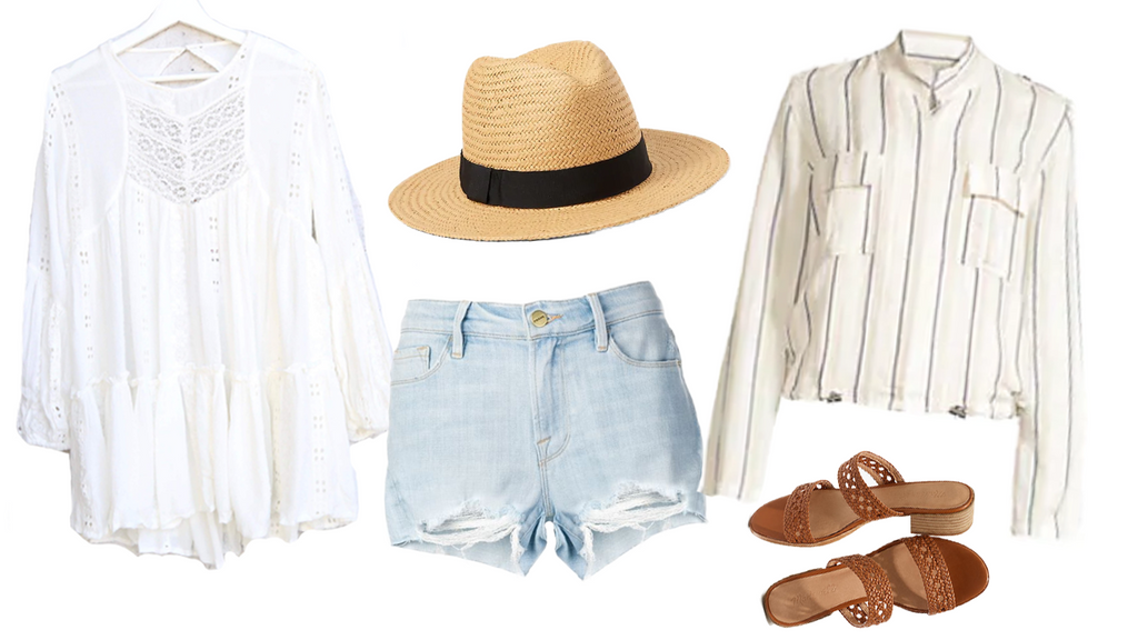 Outfit to wear at a Cottage