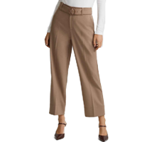 Neutral Wool Pant