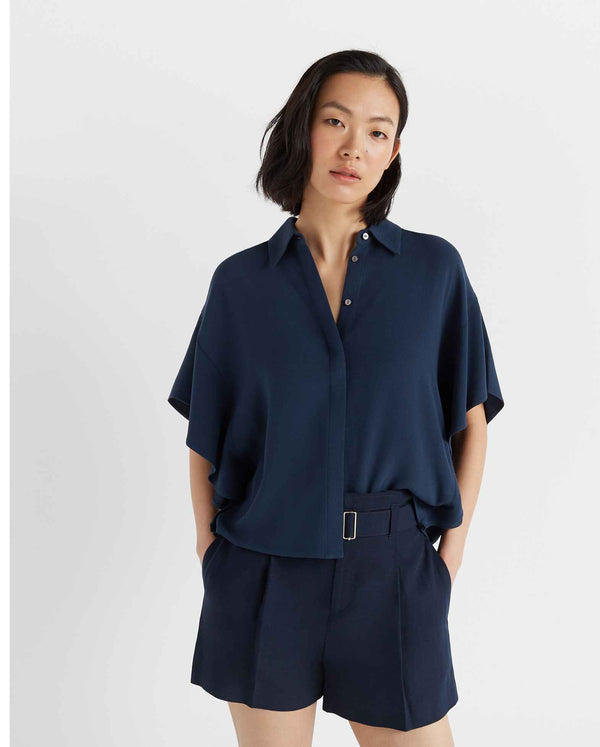 Club Monaco Caftan Sleeve Blouse