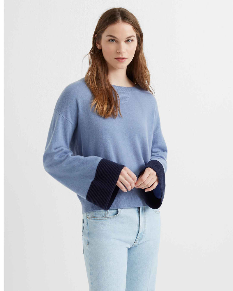 Club Monaco Cashmere Bell Sleeve Sweater