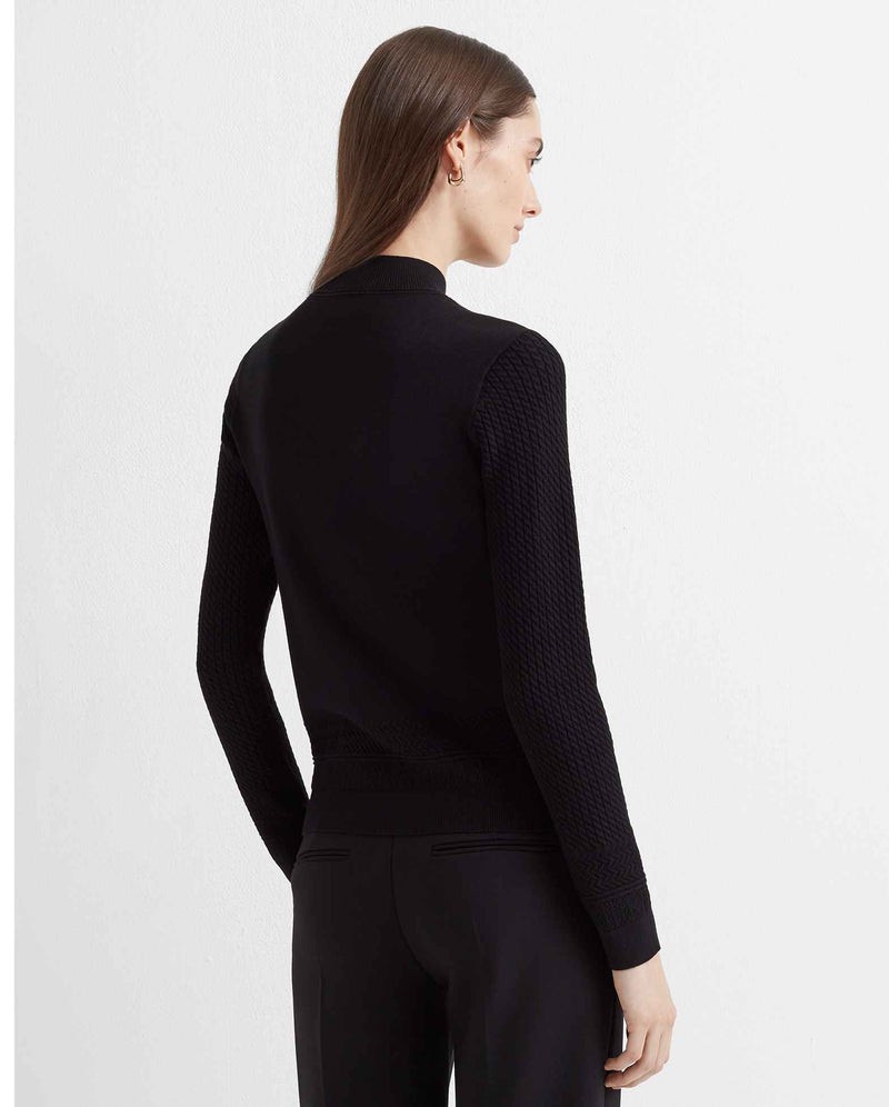 Club Monaco Tiny Cable Sweater