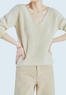 Line Solana Sweater in Acid Splash