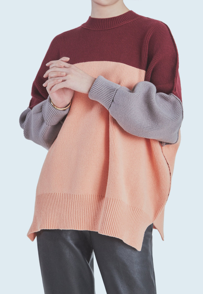 Buy Item : Free People Easy Street Colour Block in Peach