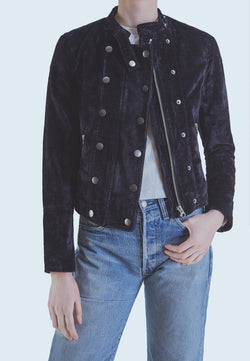 Buy Item : Free People Dusk Till Dawn Velvet Jacket