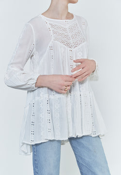 Free People Kiss Kiss Blouse