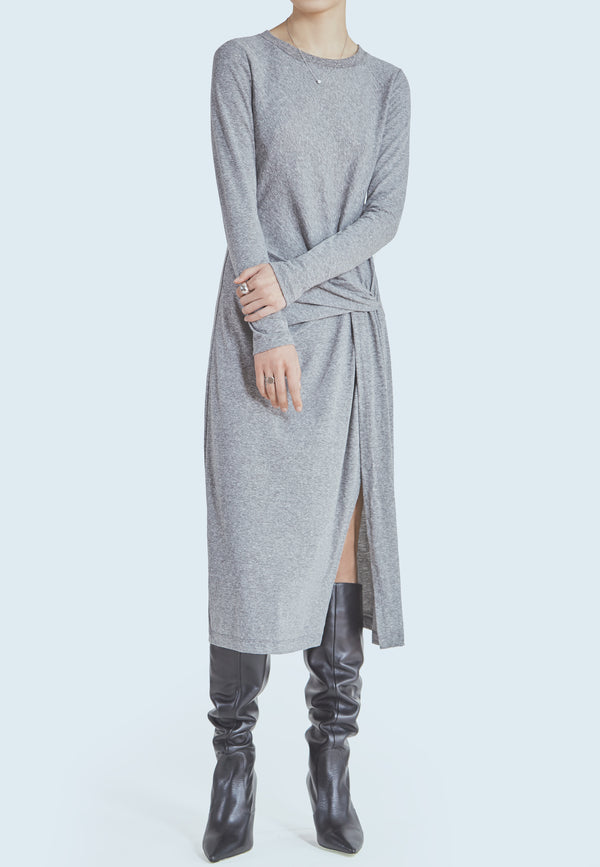 Current/Elliott Vega Dress in Heather Grey