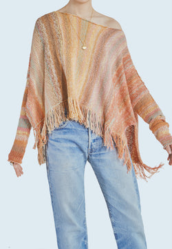 Free People Radiate Pullover in Confetti