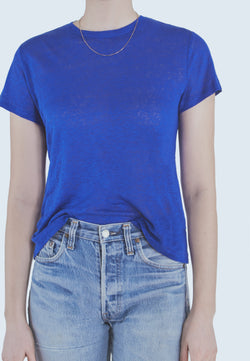 Buy Item : Current/Elliott Dover Tee in Royal Blue