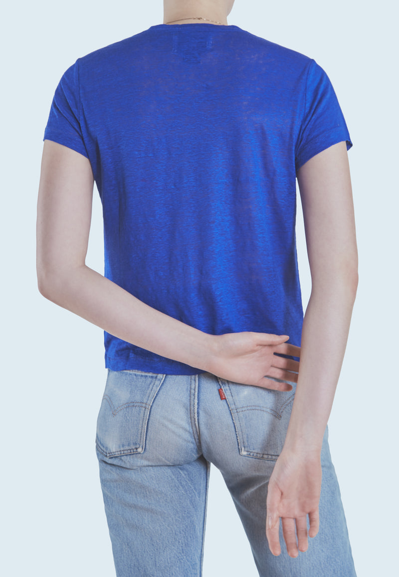 Current/Elliott Dover Tee in Royal Blue