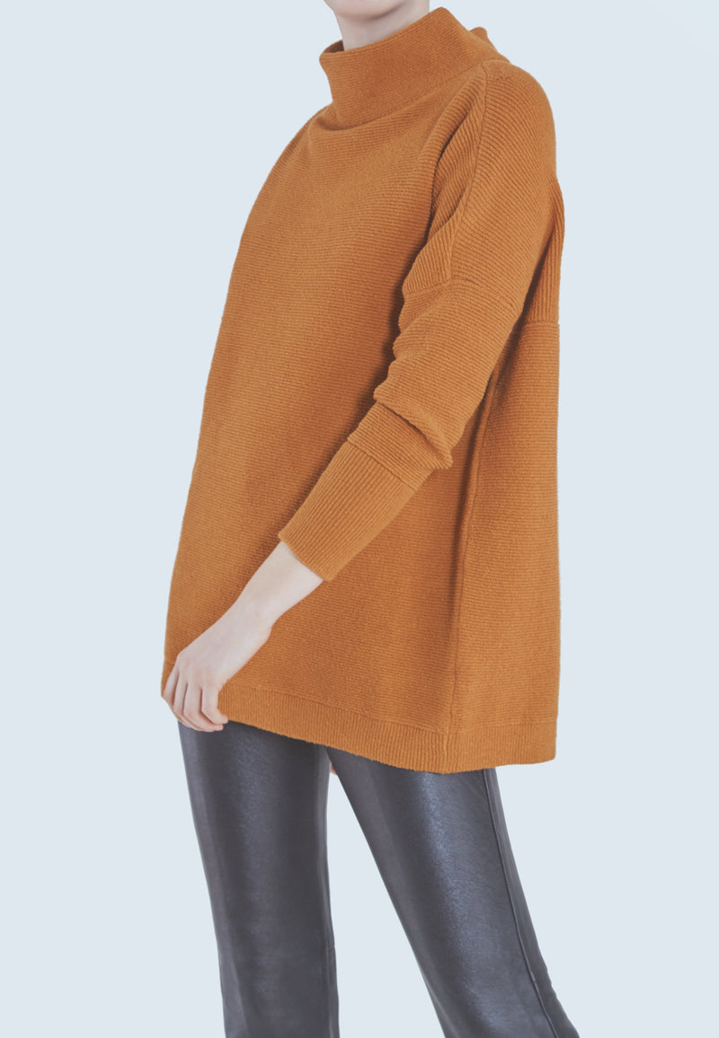 Buy Item : Free People Ottoman Slouchy Tunic in Bronze