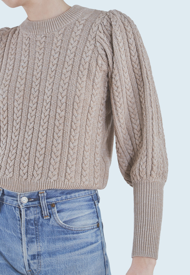 Buy Item : Notes du Nord Norma Sweater in Nude Melange