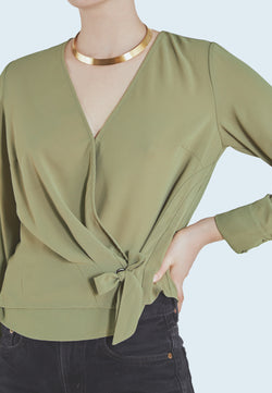 Heartloom Dale Top in Olive