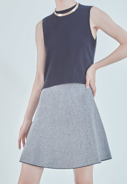 Buy Item : Theory Marl Flare Skirt