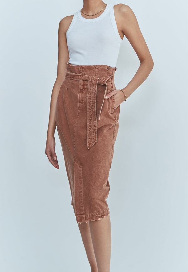 Buy Item : Free People Savannah Belted Maxi Skirt