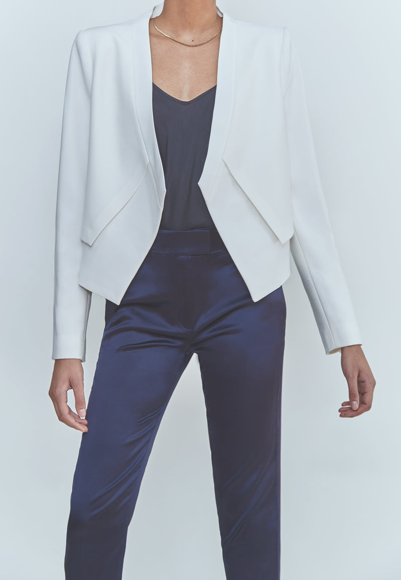 BCBG Llyod Open-Front Layered Jacket