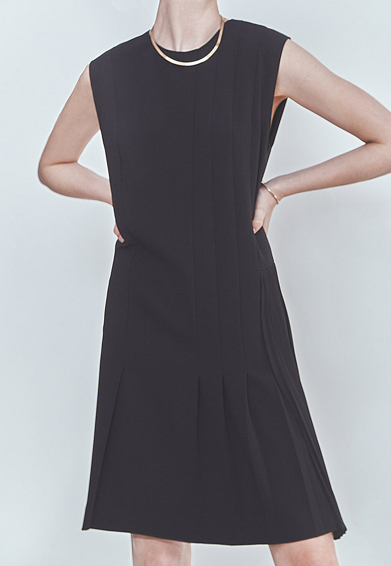 Buy Item : Theory Pleated Day Dress
