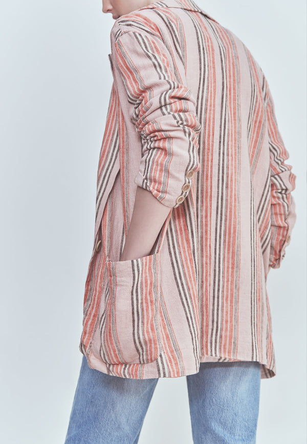 Buy Item : Free People Simply Stripe Blazer
