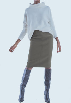 Buy Item : Obakki Oden Skirt in Juniper Green