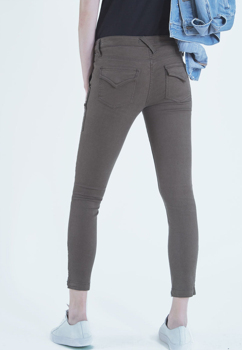 Buy Item : Joie Park Skinny Pants in Fatigue Green