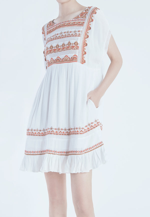 Free People Sunrise Wanderer Mini in Ivory