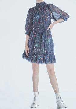 Joie Shima Dress in Midnight