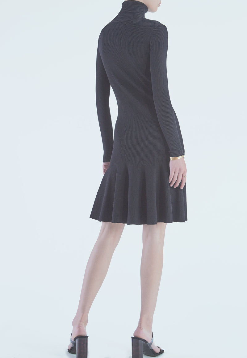 REISS Mimi Turtleneck Sweater Dress