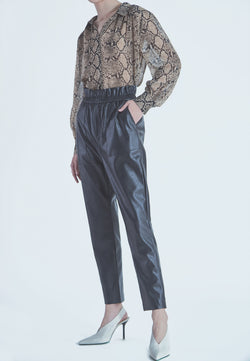 Suncoo Johan Pant in Black