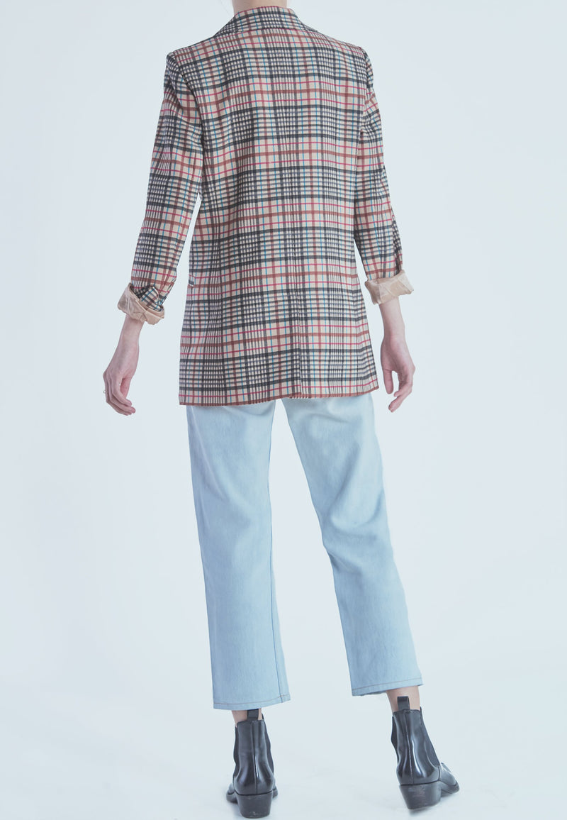 Buy Item : Marella Biagio Checked Blazer