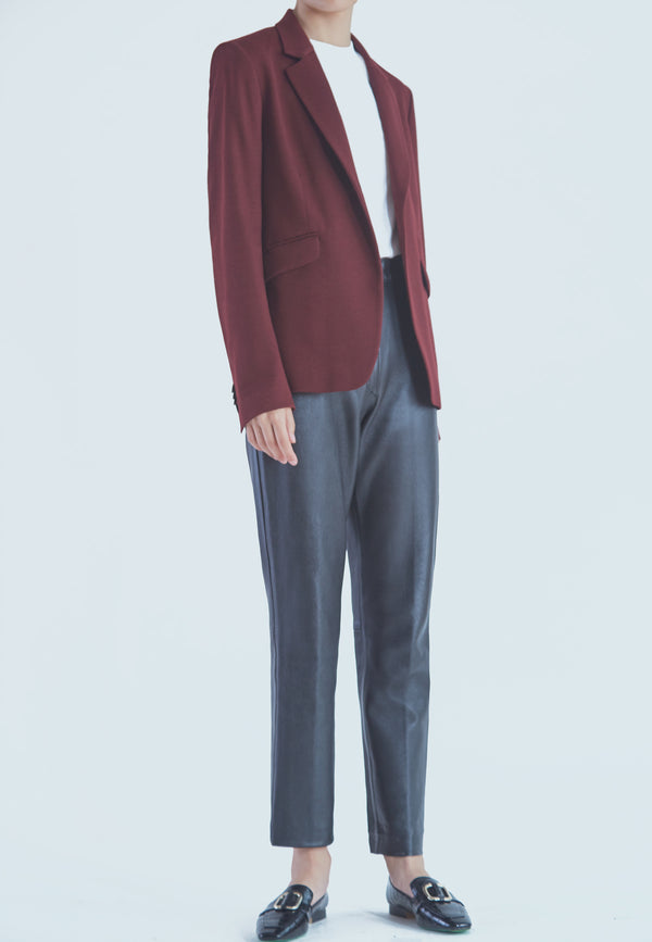 Tiger of Sweden SAUGE Blazer in Red Wine