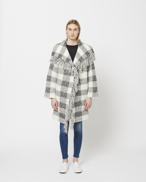 Buy Item : Line Salt & Pepper Check Clarice Sweater