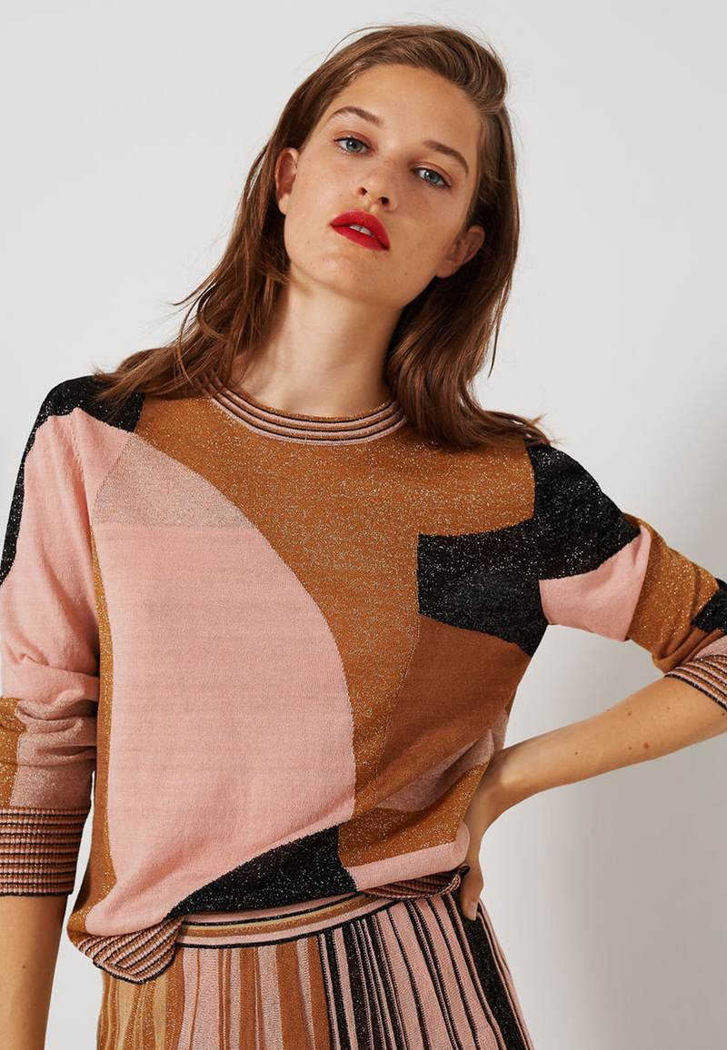 Marella Razza Knit Top