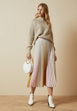 Buy Item : Ted Baker NOVIIA Ombré Pleated Skirt