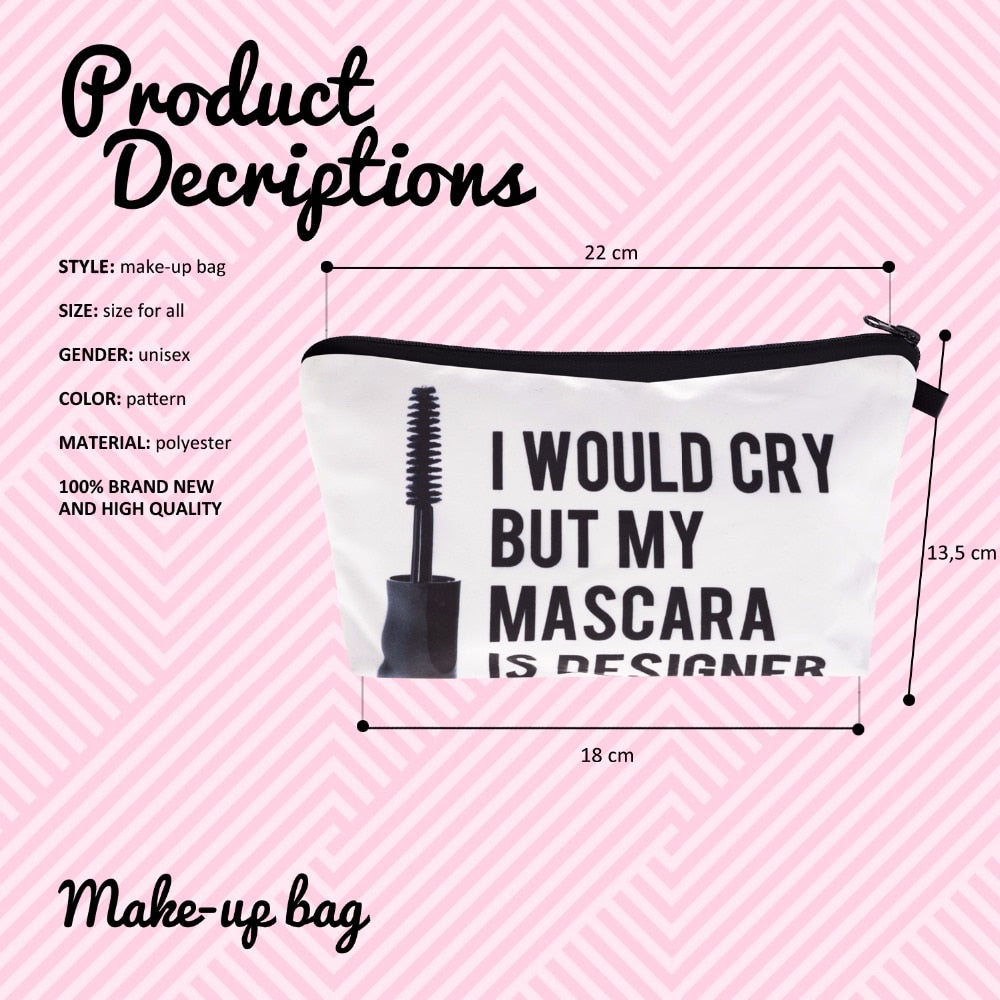 I Would Cry But My Mascara Is Designer - Caring Collections