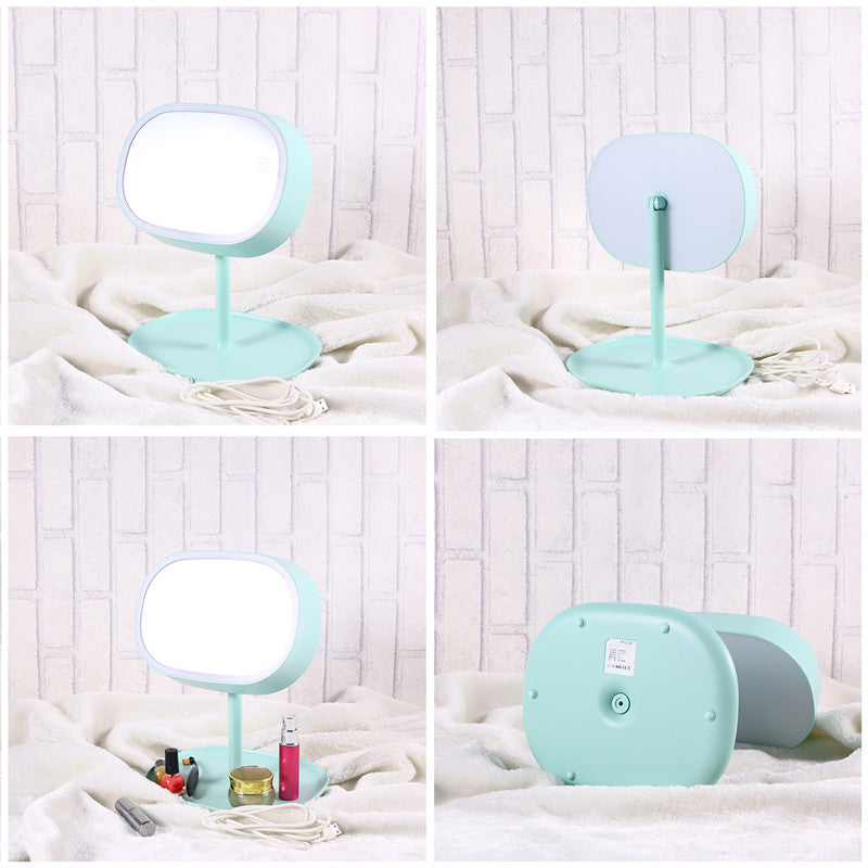 Touch Screen Rechargeable Makeup LED Mirror